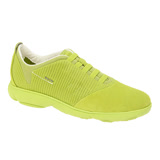 GEOX - U NEBULA B 運動鞋  麂皮  青綠 (U62D7F088223015)