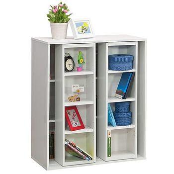 優居家 雙排活動矮書櫃 雙色可選