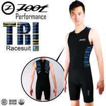ZOOT專業級 肌能連身鐵人服 速線藍 男款