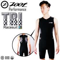 ZOOT專業級 肌能連身鐵人服 格紋白 男款