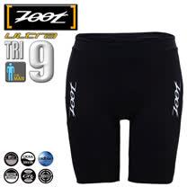 ZOOT 頂級碳纖 肌能九吋三鐵短褲 男 黑