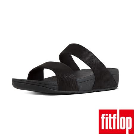 FitFlop™-(女款)SHIMMY™ OPUL SLIDE-黑色