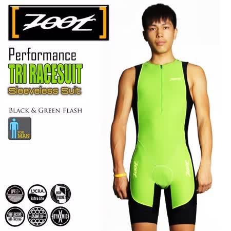 ZOOT 專業級 肌能連身三鐵衣 男 翠綠