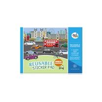 兒童靜電貼紙-城市交通