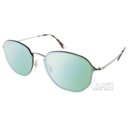 RAY BAN水銀太陽眼鏡 潮流時尚款(銀-白水銀) #RB3579N 00330