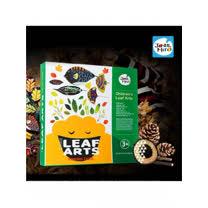 兒童創意繪畫系列-樹葉彩繪