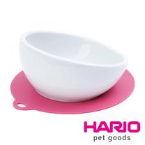HARIO 小型犬專用櫻桃粉紅磁碗  PTS-CB-PC