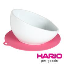 HARIO 中型犬專用粉紅色陶瓷小碗  PTS-MA-PC
