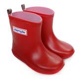 日本stample兒童雨鞋-蘋果紅