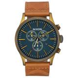 NIXON The SENTRY CHRONO 藍調搖滾潮流運動腕錶-A4052731