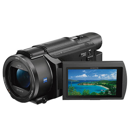 SONY FDR-AXP55 4K高畫質攝影機 可投影 公司貨 送專用電池FV100+專用座充+64G高速卡+吹球清潔組+攝影包,至2018/4/29止,再送原廠電池【NP-FV70A】