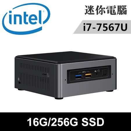 Intel NUC7i7BNH-16256N 特仕版 迷你電腦(i7-7567U/16G/256G SSD)