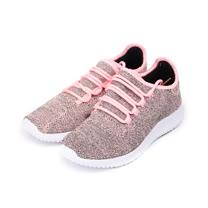 (女) GIOVANNI VALENTINO 輕量編織運動鞋 粉 女鞋 鞋全家福