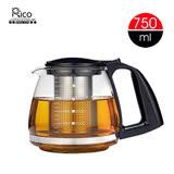 【RICO瑞可】玻璃泡茶壺(750ml)GL-750附濾網