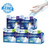 【好自在Whisper】INFINITY液體衛生棉 量多日用27cm(10片x3包)+超長夜用31.7cm(10片x2包)