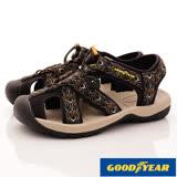 GOODYEAR戶外鞋-護趾運動涼鞋-(MS73600黑-男款-26-28cm)
