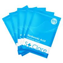 St.Clare聖克萊爾 玻尿酸100%保濕面膜(醫美升級版)10入