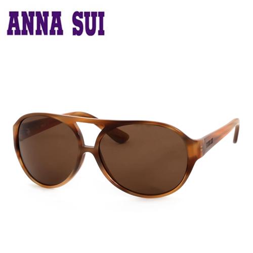 Anna Sui 安娜蘇 復古花紋 太陽眼鏡 咖啡  AS63401