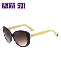 Anna Sui 安娜蘇蝴蝶羽翼俏麗圖紋太陽眼鏡(琥珀) AS930-101