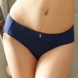 【EASY SHOP】浪漫享受 中腰三角褲(海灣藍)