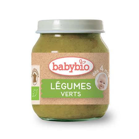 ✪法國Babybio 有機蔬菜泥-碧綠✪130g