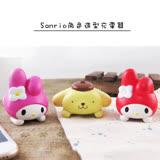 Sanrio三麗鷗美樂蒂 布丁狗造型USB充電插頭 充電頭 旅充