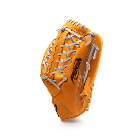 MIZUNO 壘球手套-13吋  棒球 美津濃 橘 F