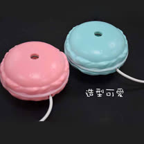 香薰usb瓶蓋加濕霧化器(馬卡龍)