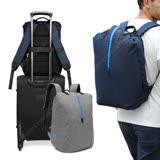 [COOL] 月球漫步 15.6吋 雙肩大學背包 雙層筆電包 時尚羽球包