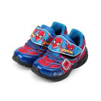 (中大童) MARVEL 蜘蛛人電燈運動鞋 藍 MNKX75112 童鞋 鞋全家福