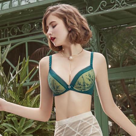 【瑪登瑪朵】反正都美Bra內衣  D-F罩杯(沉靜綠)
