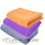 omax台製超細纖維大浴巾-2入(顏色隨機)