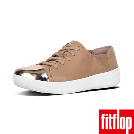 FitFlop™- (女款)F-SPORTY™ MIRROR-TOE LACE-UP-裸膚色