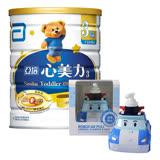 亞培 心美力 3號High Q Plus(新升級)(900gx6罐)+(贈品)波力-漢方兒童2合1洗髮沐浴乳360ml