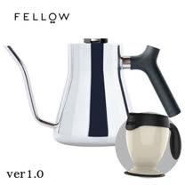 【FELLOW】STAGG 不鏽鋼測溫手沖細口壺一代(亮面) 送吸奇不倒杯經典馬克杯