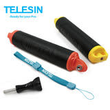 TELESIN 運動相機 浮力棒自拍杆 自拍棒 配件 gopro hero5/4配件山狗小蟻4K