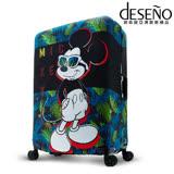 Disney 迪士尼Mickey彈性箱套-熱帶叢林(L)