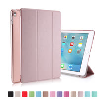 2017 Apple iPad Pro 10.5吋三折絲紋折疊保護皮套(RS105)