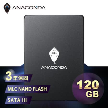 ANACOMDA巨蟒 侵略入門款 A1S 120GB SATA III 2.5吋 固態硬碟 SSD