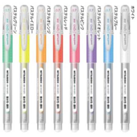 UNI 三菱 UM-151-07中性筆粉彩系列 新上市
