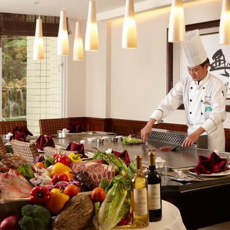 【電子票券】台東知本老爺酒店酋長鐵板燒晚餐套餐每人1198(1套2張1人用)(假日不加價)