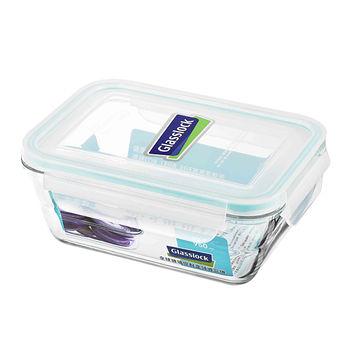 Glasslock 強化玻璃微波保鮮盒-Wave系列(950ml)