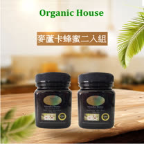 【Organic House】MGO 170+ 中度活性麥蘆卡蜂蜜(300g) 二瓶裝