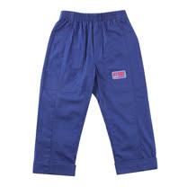 【愛的世界】SUPERMINI 戶外郊遊系列鬆緊帶雙邊口袋反折長褲/2~3歲-台灣製-
