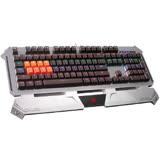 【Bloody】雙飛燕  B740A 全光軸霓彩機械鍵盤 - 贈 編程控健寶典