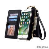 團購-iPhone 6 Plus/6s Plus 5.5吋 斜肩多功能錢包手機皮套 (MC002)-1入組