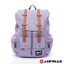 AIRWALK - 英式情人後背包-淺紫