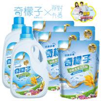 奇檬子 頂級香水<br/>洗衣精2瓶+4包