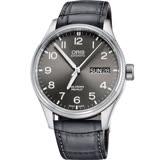 Oris 豪利時 Big Crown ProPilot 日曆星期機械錶-灰/45mm 0175276984063-0752206FC