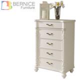 Bernice-薩維恩2.5尺歐風五斗櫃/抽屜櫃/收納櫃